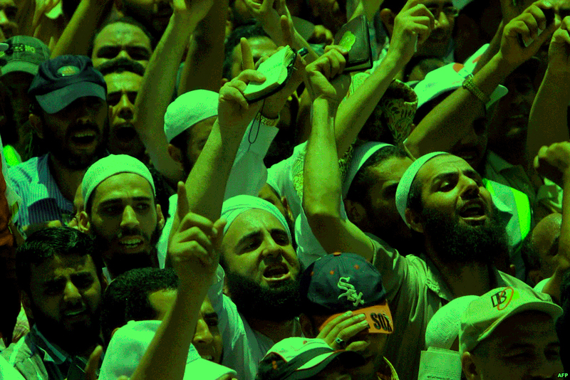 مظاهرات إسلاميين مصر
