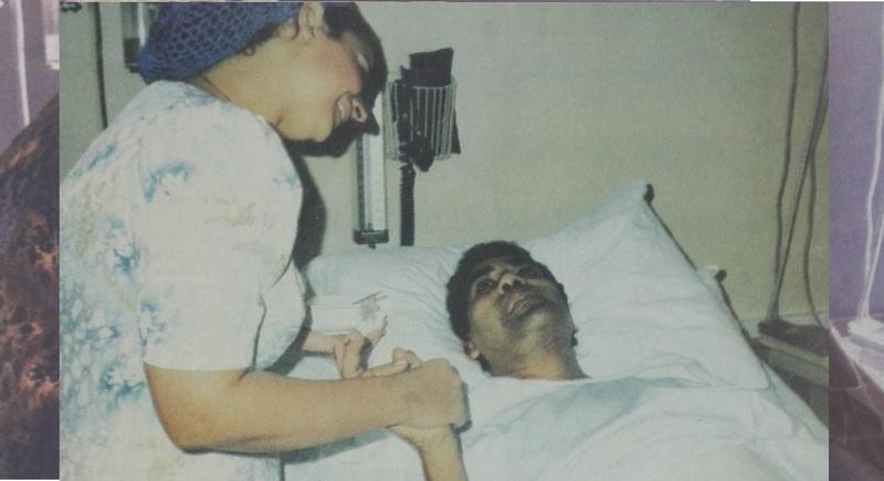 عدوية بعد الحادث في المستشفى