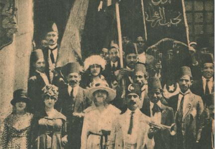 ثورة 1919مع نجيب الريحاني
