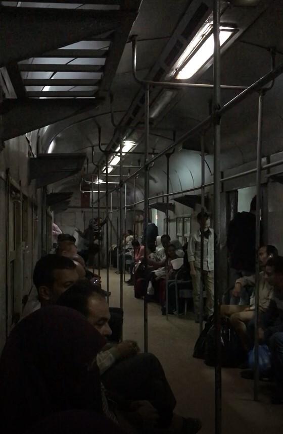 داخل القطار