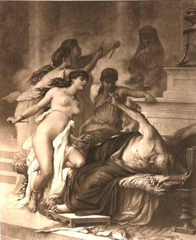 Illustration by Moreau de Tours
