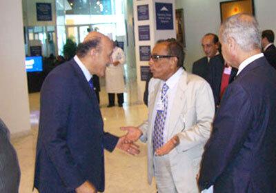 حسين سالم و عمر سليمان