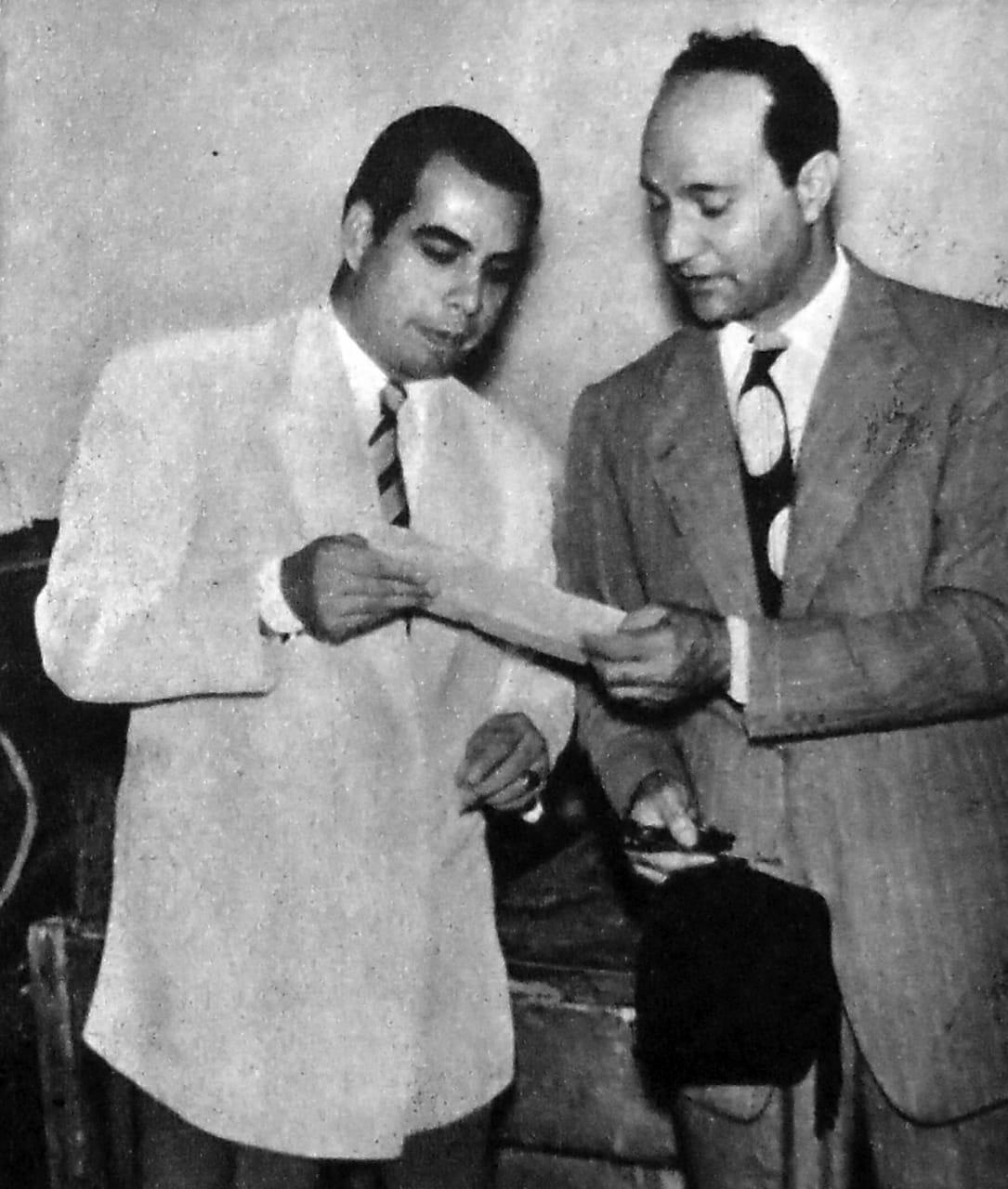 عبد الغني السيد ومحمد عبد الوهاب