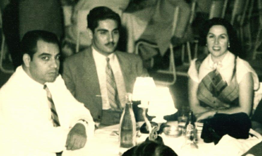 ليلى مراد و عبد الغني السيد