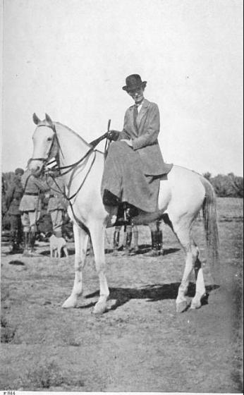 جيرترود بيل في بغداد، 1917