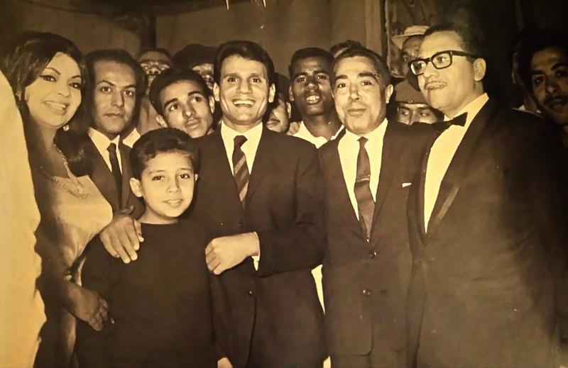 شهرزاد مع عبد الحليم حافظ