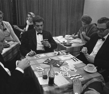 عمر الشريف يلعب بريدج، ديسمبر 1967