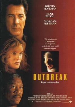 بوستر فيلم Outbreak – الصورة للتوضيح، جميع الحقوق محفوظة لأصحاب الملكية الفكرية، المصدر: ويكيبيديا