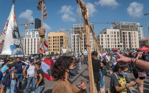 المشانق بيروت